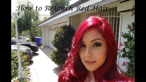 Updated How To Retouch Red Hair