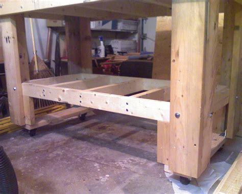 rolling workbench  jfouse  lumberjockscom