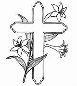 Cross Coloring Pages Printable Momjunction sketch template