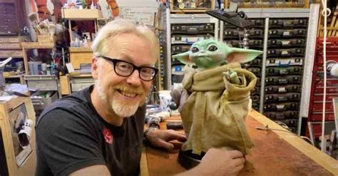 Adam Savage gives Baby Yoda a makeover - CNET