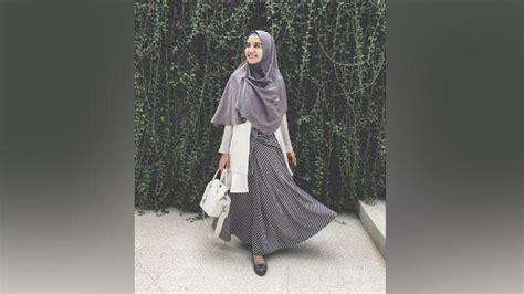 hijab syari  fashionable ala zaskia sungkar cantik