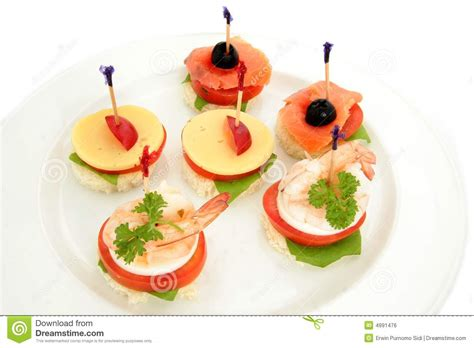 canape stock finger food canape royalty free stock photography