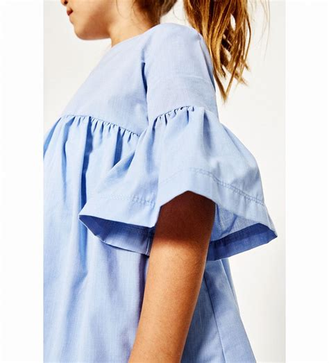 Zara Mode Kinder by Bild 1 Kleid Mit Volant 196 Rmeln Zara