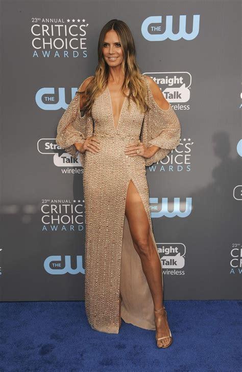 Heidi Klum The Annual Critics Choice Awards