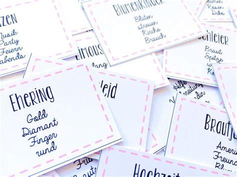 junggesellinnenabschied spiele für zuhause hochzeitskarten jga junggesellinnenabschied tabu karten pdf ein designerst 252 ck be