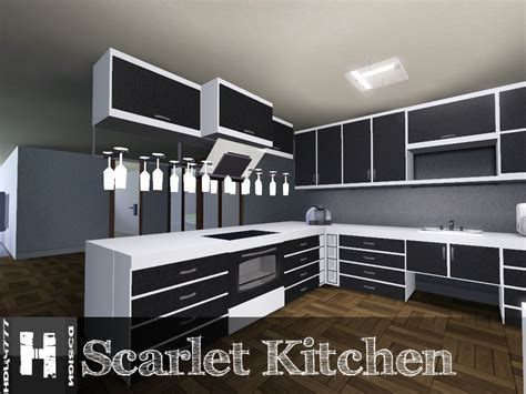 Mod The Sims   Scarlet Kitchen **11.12.2011  UPDATED**