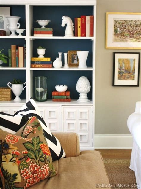 navy blue bookshelf five ways to style bookcases a thoughtful place 1057