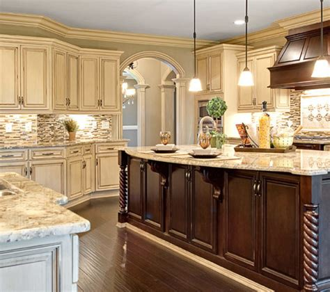 kitchen cabinets with different color island choosing the perfect kitchen cabinet door style stove