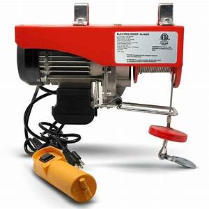 Mini Electric Wire Cable Hoist Winch Crane Lift Overhead