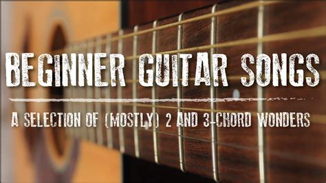 Great songs to start playing guitar. Master Your Chords With These Beginner Guitar Songs