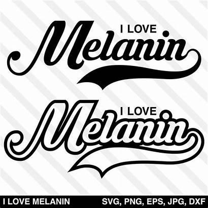 Melanin Svg Vector Magic Ilovemelaninsvg Silhouette Font