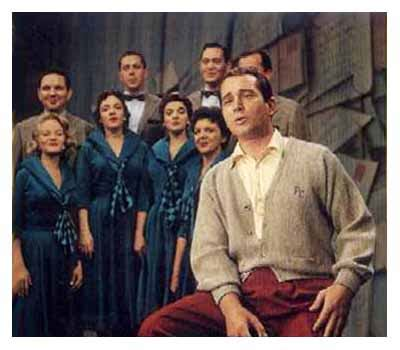 perry como sweater perry como
