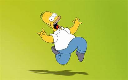 Homer Simpson Funny Wallpapers Simpsons Background Cartoon
