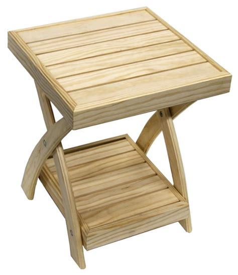 woodwork folding side table plans  plans