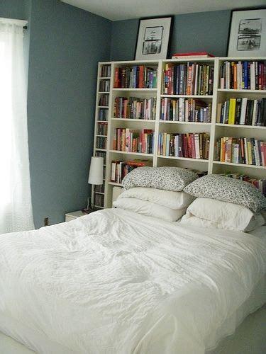 De 20+ Bästa Idéerna Om Bookcase Headboard På Pinterest