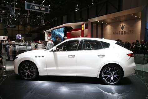 maserati levante new maserati levante suv detailed in geneva just as