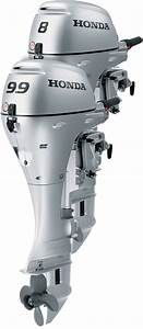 Honda Bf8 And Bf9 9 Outboard Engines