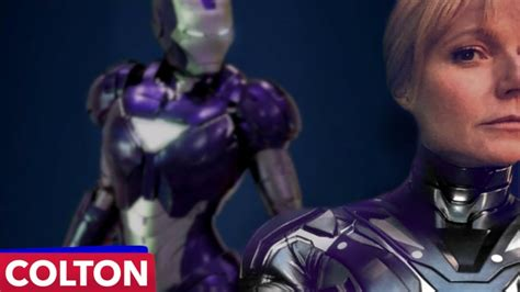 pepper potts superpowers iron suit  avengers  game