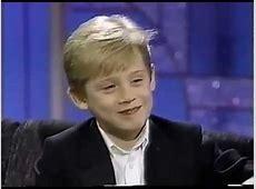MACAULAY CULKIN Interview 1991 YouTube