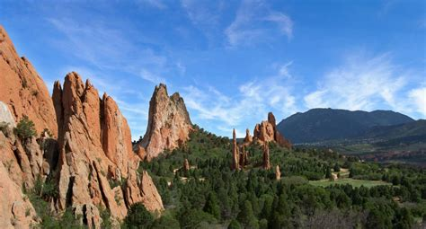 Garden Of The Gods Best Time To Visit by Les Embl 233 Matiques De Colorado Springs 7 Fa 231 Ons De