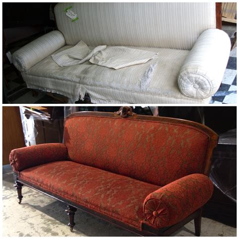 Companies That Reupholster Furniture by Antique Sofa Reupholstered Schoenbauer Furniture Service