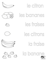 143 best French Worksheets for Children - Français ...