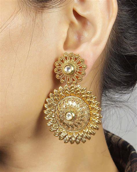 Modern Gold Earrings For Fashionable Look In 2018. Black Color Beads. Classy Men Beads. Ancient Beads. Flattened Beads. Short Black Beads. Viking Apron Dress Beads. Tibarumal Beads. Matte Black Onyx Beads