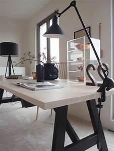 Lampe Style Industriel : id es de d coration d 39 un bureau style industriel ~ Teatrodelosmanantiales.com Idées de Décoration