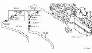 2006 Nissan Frontier Heater Piping Parts Listing