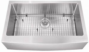 16g apron front stainless steel kitchen sink single bowl With apron sink clearance