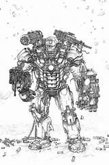 Coloring War Machine Ironman Iron Printable Sheets Boys Marvel Venom Drawing Viking Adult sketch template