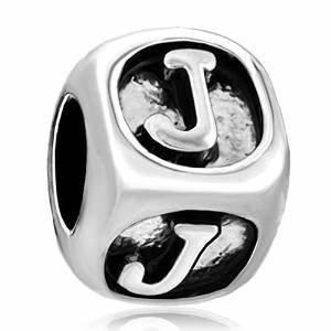 3d letter j pandora charm With pandora letter j pendant charm
