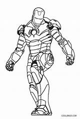 Coloring Iron Ironman Printable Mark Cool2bkids Lego Getdrawings Drawing Template sketch template