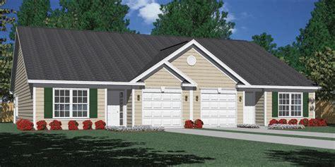 split floor plan house plans houseplans biz house plan d1261 b duplex 1261 b