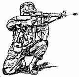 Military Coloring Gun Pages Getdrawings sketch template