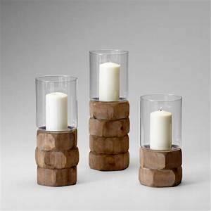 natural wood pillar candle holders set of 3 With kitchen cabinets lowes with pillar candle holders wood