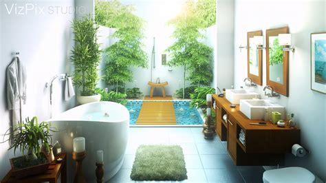 glass tile bathroom wall 33 outdoor bathroom design and ideas inspirationseek com