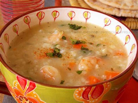 cuisine saine et simple soupe de crevettes le cuisine de samar