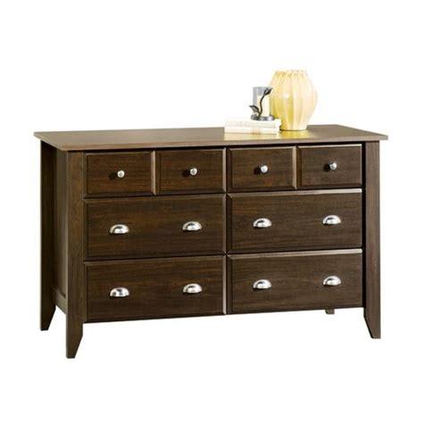 Menards Bedroom Furniture by Sauder Shoal Creek Jamocha Wood Dresser At Menards 174
