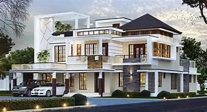3500, Square, Feet, Double, Floor, Contemporary, Home, Design