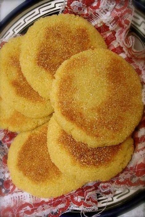 recette de cuisine choumicha mini harcha ou galette de semoule choumicha cuisine