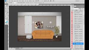 Make realistic interiors with photoshop youtube for Interior design order online