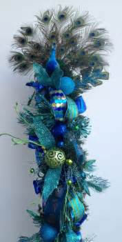 blue peacock tree turquoise