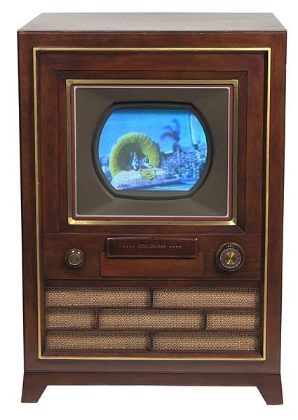 when was color television invented communication media technology the television the