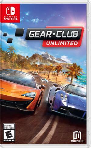 Gear Club by Gear Club Unlimited For Nintendo Switch Nintendo