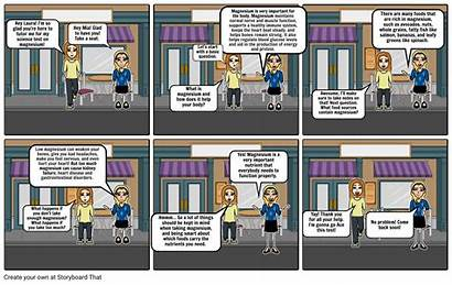 Comic Strip Nutrient Soto Chrystal Storyboard Slide