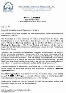 lake naci news july 2017 oak shores realty With real estate listing solicitation letter