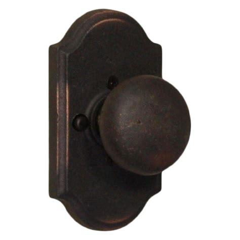 Weslock Molten Bronze Oilrubbed Bronze Premiere Privacy