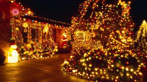 christmas lights  backgrounds  powerpoint