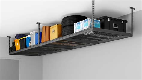 new age overhead storage rack newage products 40151 4 by 8 ceiling mount